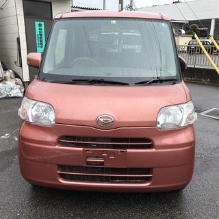 総額25万円😉タント660L😉L375S😉赤橙😉車検2年つ…