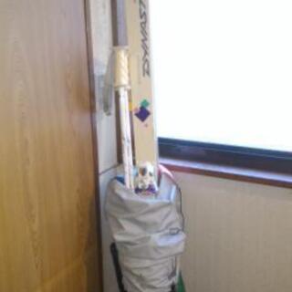 0円 スキー板、ストック、カバー、レディース