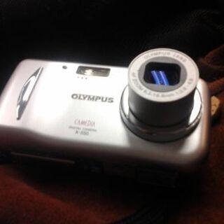 OLYMPUS デジカメ4M CAMEDIA Xー550