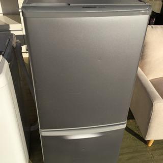 Panasonic 138L 2ドア ノンフロン 冷凍冷蔵庫 N...