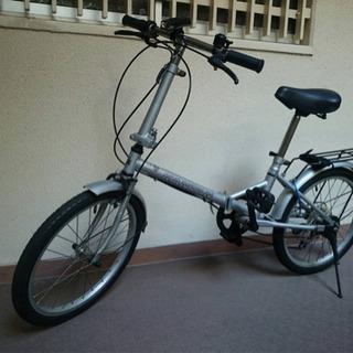 折りたたみ自転車 ウエルビーサイクル工業 6段変速付き