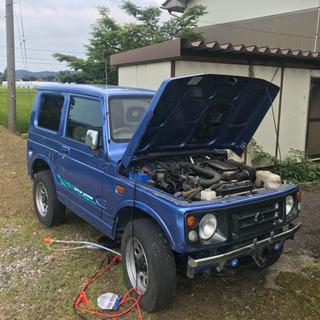 JA22 青色ジムニー MT車
