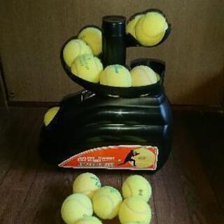 硬式テニスボール専用 トスマシン