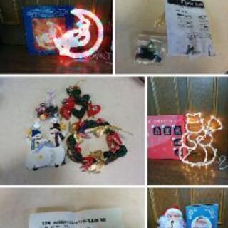 クリスマスイルミネーション&飾り