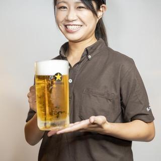 初心者でも時給1050円スタート!気軽に楽しく働ける居酒屋です。