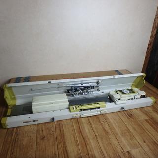 リッカーミシン 編機 RK-703型 ミシン パンチカード式 編み物 ニット 家電 中古品 宮城の画像