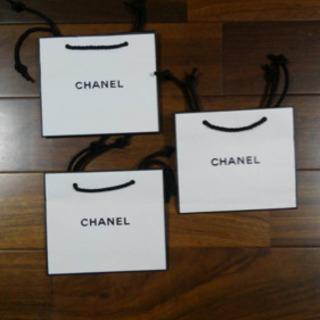 CHANEL 紙袋 小×3