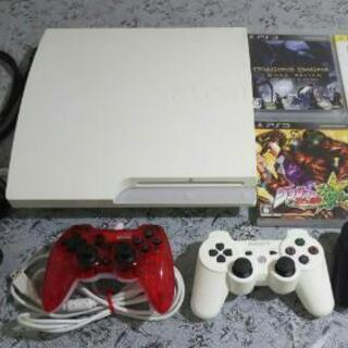 PlayStation 3 本体 + ソフト4枚 + コントロー...