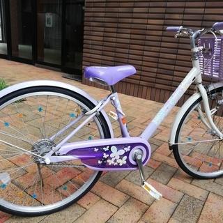 【取引終了】女の子 自転車 ブリジストン エコパル 24インチ