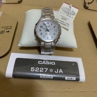 CASIO ソーラー電波時計