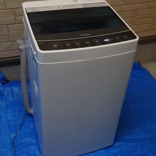 【極美品】 Haier ハイアール 全自動電気洗濯機 JW-C4...