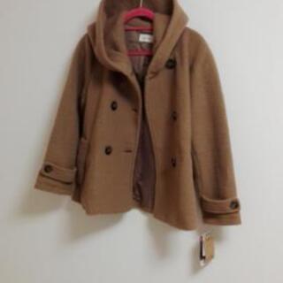 茶色のコート 新品 未使用