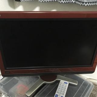 シャープ 20インチ テレビ お引き取りのみです。