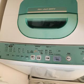 全自動洗濯機 2009年 日立