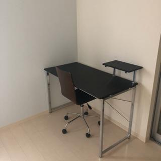 モダンデザイン!デスク&椅子セット