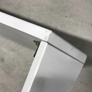 白い折りたたみローテーブル - 家具