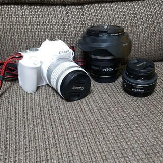 【ホワイト】Canon EOS Kiss x9
