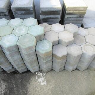 インターロッキングブロック(6角形型敷石)新品(未使用品)在庫品...