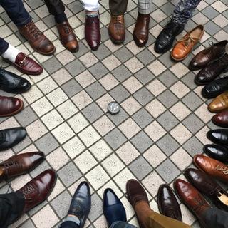 店頭靴磨き教室