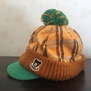 ミキハウス 冬用帽子