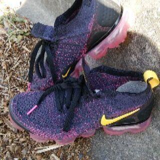 Nike vapormax  24.5cm 黒×ピンク