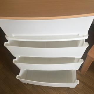 ニトリ 衣装ケース 4段 木製天板 収納