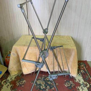 NSO41 SEKISUI 折りたたみ式 洗濯干し 室内物干し