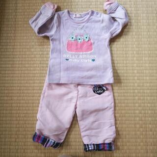 ベビー服 サイズ80 女の子 冬物 大量 セット − 福岡県
