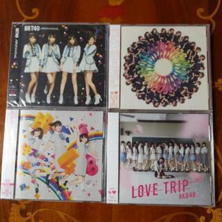 ⭐お値下げしました。AKB HKTシングルCD 4枚セット