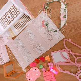 ピンク☆カントリー&姫系のれんインテリアセット