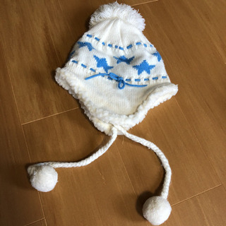女児冬用あったか帽子
