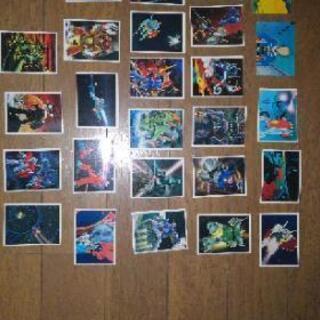 機動戦士ガンダム当時ものカード