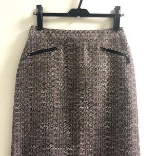 ローラアシュレイ ツイード調スカート