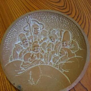 飾皿 七福神?