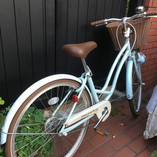 自転車 女の子 ポンポネット
