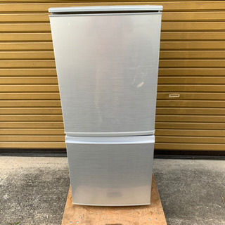 【値下げ】2015年製  SHARP 137L 冷蔵庫