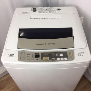 【最大30日保障🐢】AQUA 全自動洗濯機 AQW-P70B(W...