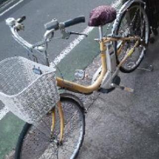 キャンセル再掲  電動アシスト自転車