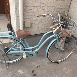 26インチシール明記自転車