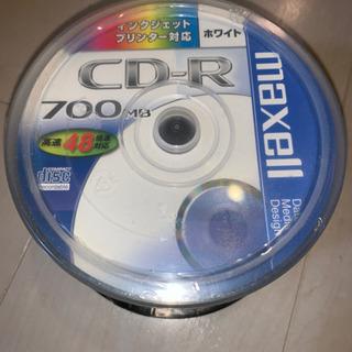 maxell  CD-R 50枚 スピンドルケース 未開封1ケース