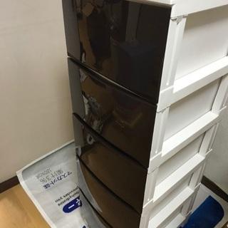 衣類収納プラスチックケース5段