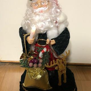 サンタクロースの置き物