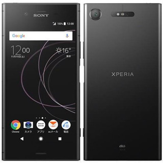 【新品未使用】Xperia XZ1 Black 64 GB