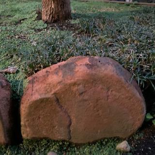 花壇などへの石「薄いピンク色」