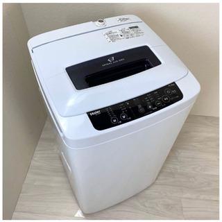 ハイアール 4.2kg 全自動洗濯機 ブラックHaier