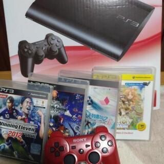 【500GB・スリム】PS3本体 セット