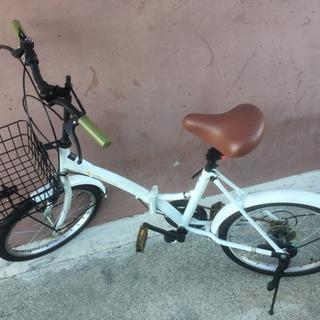 折りたたみ自転車 6000円