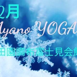 《大田区》12月 田園調布富士見会館 ヨガクラス