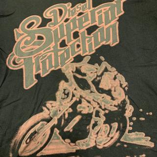 DIESELのVネックロングTシャツ