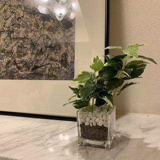 造花の小鉢